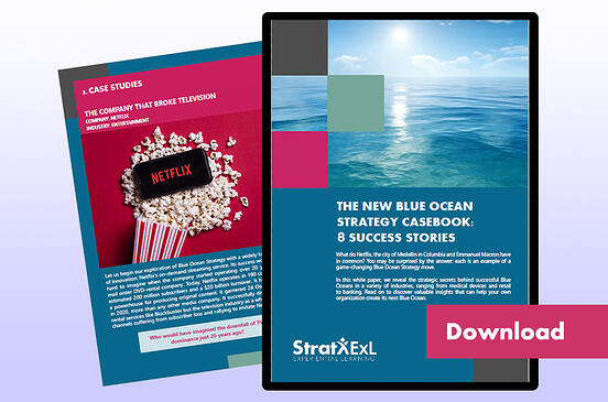 The New Blue Ocean Strategy Casebook Download landing page