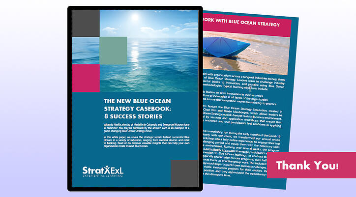 The New Blue Ocean Strategy Casebook Thank You Page